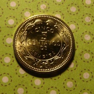 Гондурас 2010 год монета 5 сентаво !
