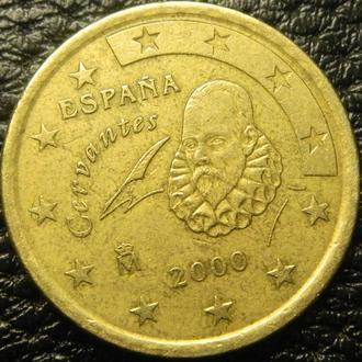 50 євроцентів 2000 Іспанія