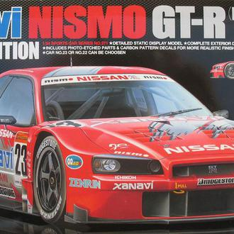 Сборная модель автомобиля Nissan Xanavi NISMO GT-R (R 34) SE  1:24 Tamiya 24271