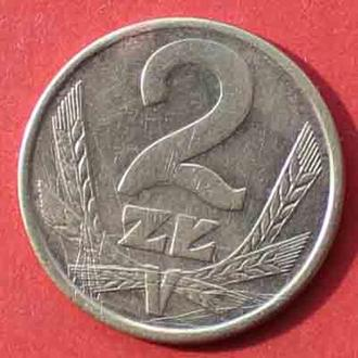 2 злотих 1984 р. Польша.