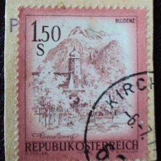 Австрия 1974г - вырезка