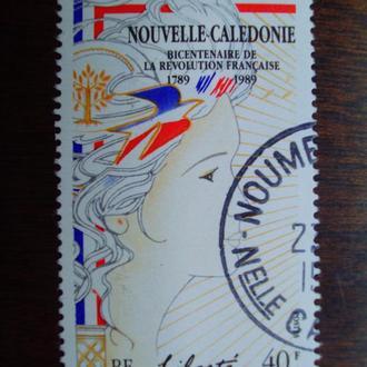 Новая Каледония.1989г. 200 лет французской революции. Символ Свободы.