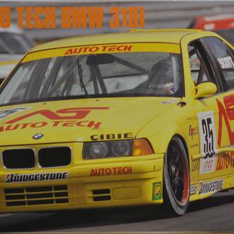 Сборная модель автомобиля BMW 318i JTCC Auto Tech 1:25 Hasegawa