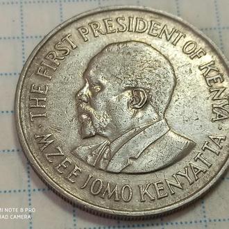 КЕНИЯ, 1 шиллинг 1978