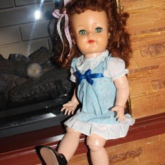 Старинная кукла из Сша Ideal Walkers Posie Doll 50-е 45 см.