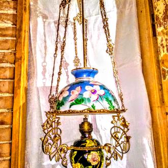Лампа майоліка Budapest.