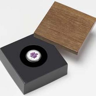 Платиновая монета Открой Австралию Орхидея Куктауна 2006 15 $