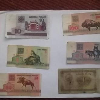 Деньги Беларуси и Казахстана