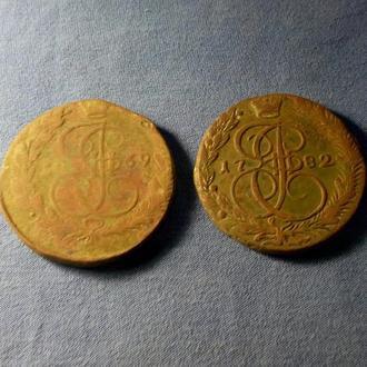 5 копеек 1769 - 1782 год