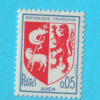 Франция Ми 1534, 1966 год MNH