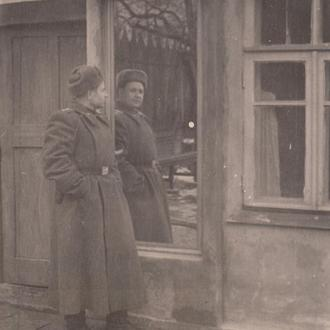 Фото. Старшина МВД. 1940-50 гг.