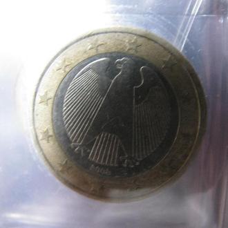 1 Евро Германия 2002