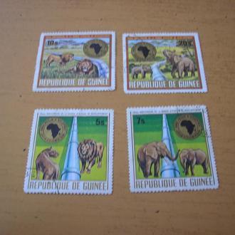 Гвинея. Животные 1975 полн. серия
