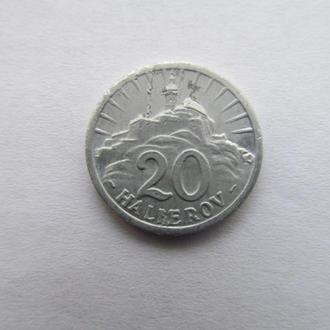 Словакия  20  геллеров  1942  год