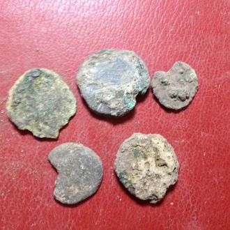 Ольвия монеты не чищенные