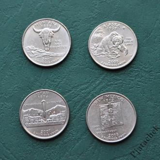 25 центов США Аляска 2008 г.