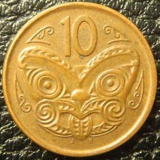 10 центів Нова Зеландія 2006