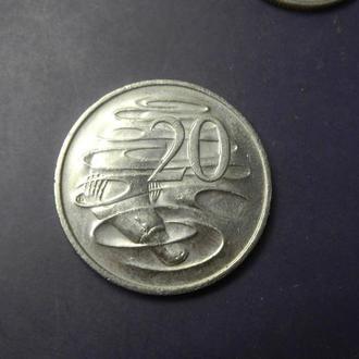 20 центів 1999 Австралія