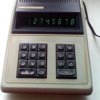 Редкий калькулятор Б3-02 раритет CCCP 1976г