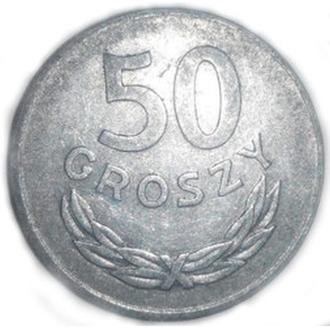 50 CROSZY ( Грошей) Польша 1974