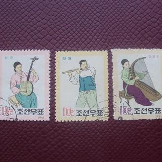 Корея 1962г. гаш.