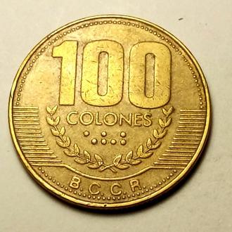 100 колон 1999 года Коста-Рика  !!! а2