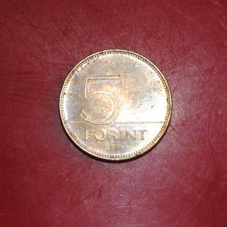 5 форинтов 1999 г Венгрия