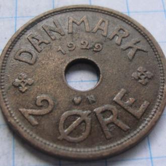 Дания 1 эре 1929 год