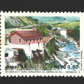 Бразилия - архитектура 1989 - Michel Nr. 2317 **