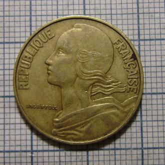 Франция, 20 сентим 1971 г Марианна, символ свободы.