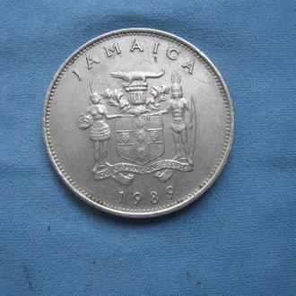Ямайка 20 центов 1989 год