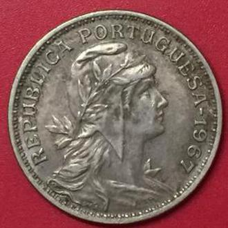 50 сентаво 1967 год Португалия
