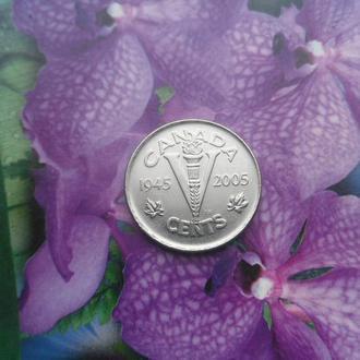 Канада 5центов 2005г