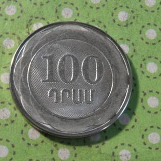 Армения 2003 год монета 100 драм !