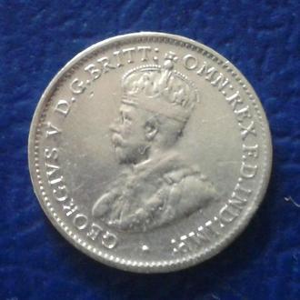 3 ПЕНСА, 1936 г., АВСТРАЛИЯ
