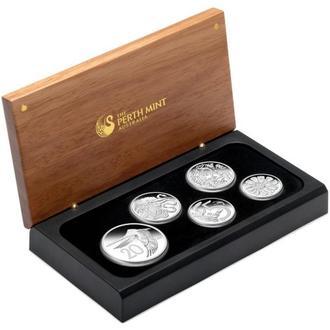 2009 Набор Австралийские 'Альтернативные' монеты десятичного дизайна