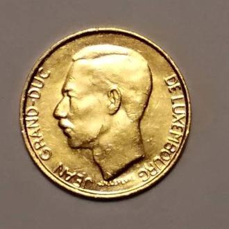 Люксембург 1 франк 1987