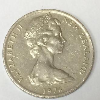 20 центов 1976 г. Новая Зеландия
