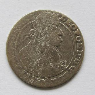 15 крейцеров 1662г. Леопольд I Габсбург