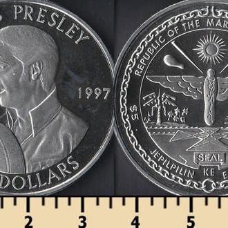 Маршалловы острова 5 долларов 1997