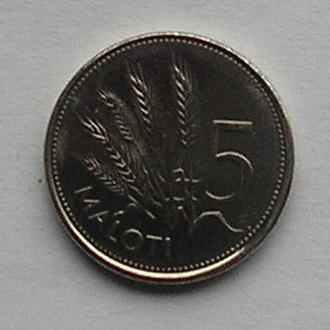 Лесото 5 малоти 1998