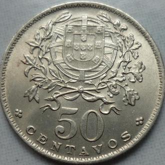 Португалия 50 сентаво 1967 состояние