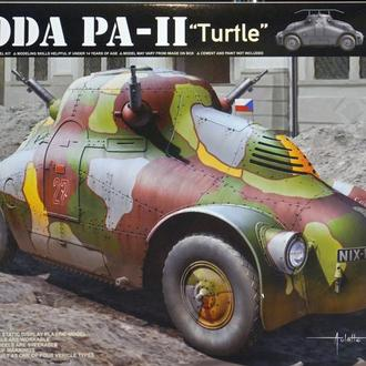 Сборная модель Шкода PA-II (Черепаха) 1:35 Takom 2024