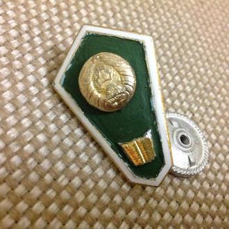 Ромб за окончание юр. техникума. СССР