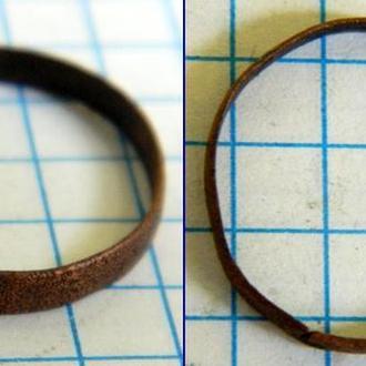 Обручальное кольцо медь 18-19 вв (медь)
