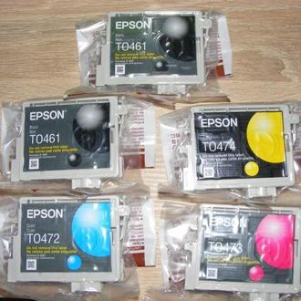 Картриджи для Epson Stylus C63 орегинал