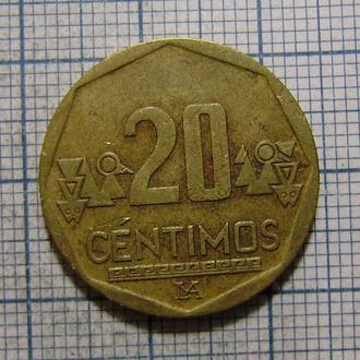 Перу, 20 сентимо 2008 г.