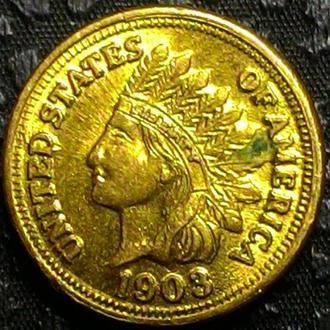 США 1 цент 1903 год