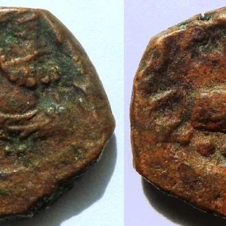 Кушаны/Сасаниды. Хормазд I. 290-320 AD. АЕ драхма