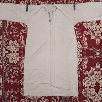 Старовинна жіноча вишита сорочка - вишиванка Прикарпаття Полотно